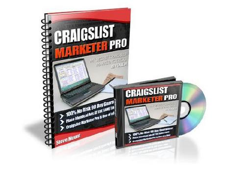 Product picture Craigslist Marketing Pro